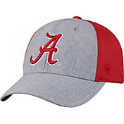 Top of the World Men's Alabama Crimson Tide Grey/Crimson Faboo 1Fit Hat