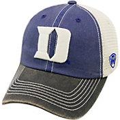 Top of the World Men's Duke Blue Devils Blue/Black/White Off Road Adjustable Hat
