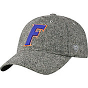 Top of the World Men's Florida Gators Grey Jones Adjustable Hat