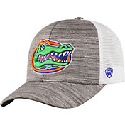 Top of the World Men's Florida Gators Grey Warmup Adjustable Hat