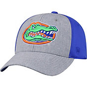 Top of the World Men's Florida Gators Grey/Blue Faboo 1Fit Hat