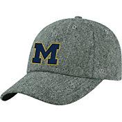 Top of the World Men's Michigan Wolverines Grey Jones Adjustable Hat
