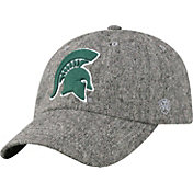 Top of the World Men's Michigan State Spartans Grey Jones Adjustable Hat