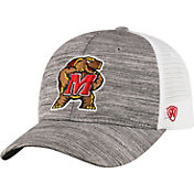 Top of the World Men's Maryland Terrapins Grey Warmup Adjustable Hat