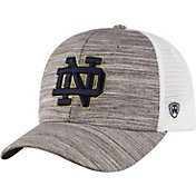 Top of the World Men's Notre Dame Fighting Irish Grey Warmup Adjustable Hat