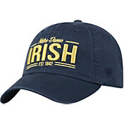 Top of the World Men's Notre Dame Fighting Irish Navy Lockers Adjustable Hat