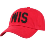 Top of the World Men's Wisconsin Badgers Red District Adjustable Hat