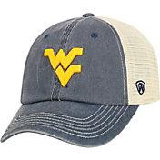 Top of the World Men's West Virginia Mountaineers Blue/White Vintage Mesh Adjustable Hat