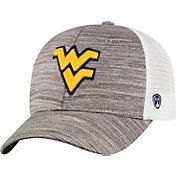 Top of the World Men's West Virginia Mountaineers Grey Warmup Adjustable Hat