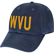Top of the World Men's West Virginia Mountaineers Blue District Adjustable Hat