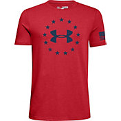 Under Armour Boys' Freedom Logo 2.0 Short Sleeve T-Shirt