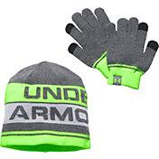 Under Armour Boys' Beanie and Glove Combo Set 2.0