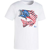Under Armour Little Boys' Flag Bass Short Sleeve T-Shirt