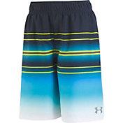 Under Armour Boys' Galaxy Stripe Volley Shorts