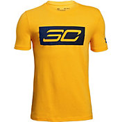 Under Armour Boys' SC30 Logo Basketball T-Shirt