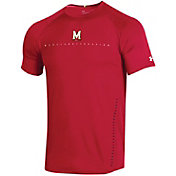 Under Armour Men's Maryland Terrapins Red Training Performance T-Shirt