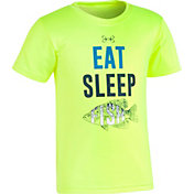 Under Armour Toddler Boys' Eat Sleep Fish Short Sleeve T-Shirt