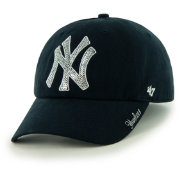 '47 Women's New York Yankees Sparkle Clean Up Adjustable Hat