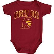 USC Authentic Apparel Infant USC Trojans Cardinal Rudy Onesie