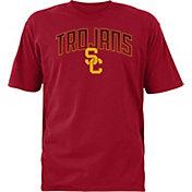 USC Authentic Apparel Men's USC Trojans Cardinal Rescender Wave T-Shirt