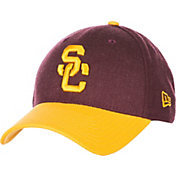 New Era Men's USC Trojans Cardinal/Gold Change Up Stretch Fit Hat