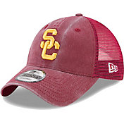 New Era Men's USC Trojans Cardinal Rustic 9TWENTY Adjustable Hat
