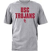 USC Apparel Men's USC Trojans Burnt Orange Stencil T-Shirt