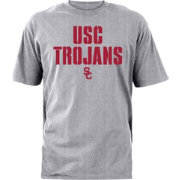USC Apparel Men's USC Trojans Burnt Orange Stencil T-Shirt