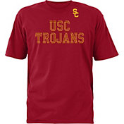 USC Authentic Apparel Youth USC Trojans Cardinal Double Cut T-Shirt