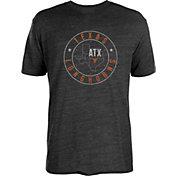 University of Texas Authentic Apparel Men's Texas Longhorns Texas Brand Black T-Shirt