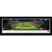 Blakeway Panoramas Southern Miss Golden Eagles Framed Panorama Poster