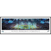 Blakeway Panoramas Super Bowl LII Champions Philadelphia Eagles Standard Framed Panorama Poster