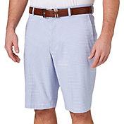 Walter Hagen Men's Perfect 11 Gingham Golf Shorts