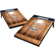 Wild Sports LA Chargers Brown Wood Tailgate Toss