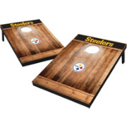 Wild Sports Pittsburgh Steelers Brown Wood Tailgate Toss
