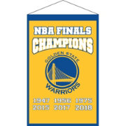 Winning Streak Sports 2018 NBA Champions Golden State Warriors Champions Banner