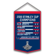 Winning Streak Sports 2018 Stanley Cup Champions Washington Capitals Printed Banner
