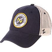 Zephyr Men's Nashville SC Unstructured Navy Snapback Adjustable Hat