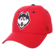 Zephyr Men's UConn Huskies Red DH Fitted Hat