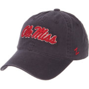Zephyr Men's Ole Miss Rebels Blue Scholarship Adjustable Hat