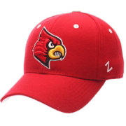 Zephyr Men's Louisville Cardinals Cardinal Red DH Fitted Hat