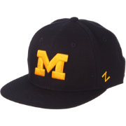 Zephyr Men's Michigan Wolverines Blue M15 Fitted Hat