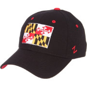 Zephyr Men's Maryland Terrapins 'Maryland Pride' Black Flex Hat