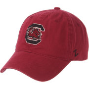 Zephyr Men's South Carolina Gamecocks Garnet Scholarship Adjustable Hat
