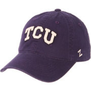 Zephyr Men's TCU Horned Frogs Purple Scholarship Adjustable Hat