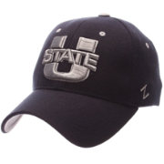 Zephyr Men's Utah State Aggies Blue ZH Stretch Fit Hat