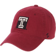 Zephyr Men's Temple Owls Cherry Scholarship Adjustable Hat