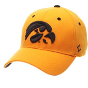 Zephyr Men's Iowa Hawkeyes Gold ZH Stretch Fit Hat