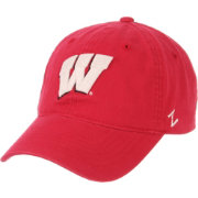 Zephyr Men's Wisconsin Badgers Red Scholarship Adjustable Hat