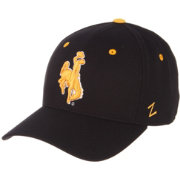 Zephyr Men's Wyoming Cowboys DH Fitted Black Hat
